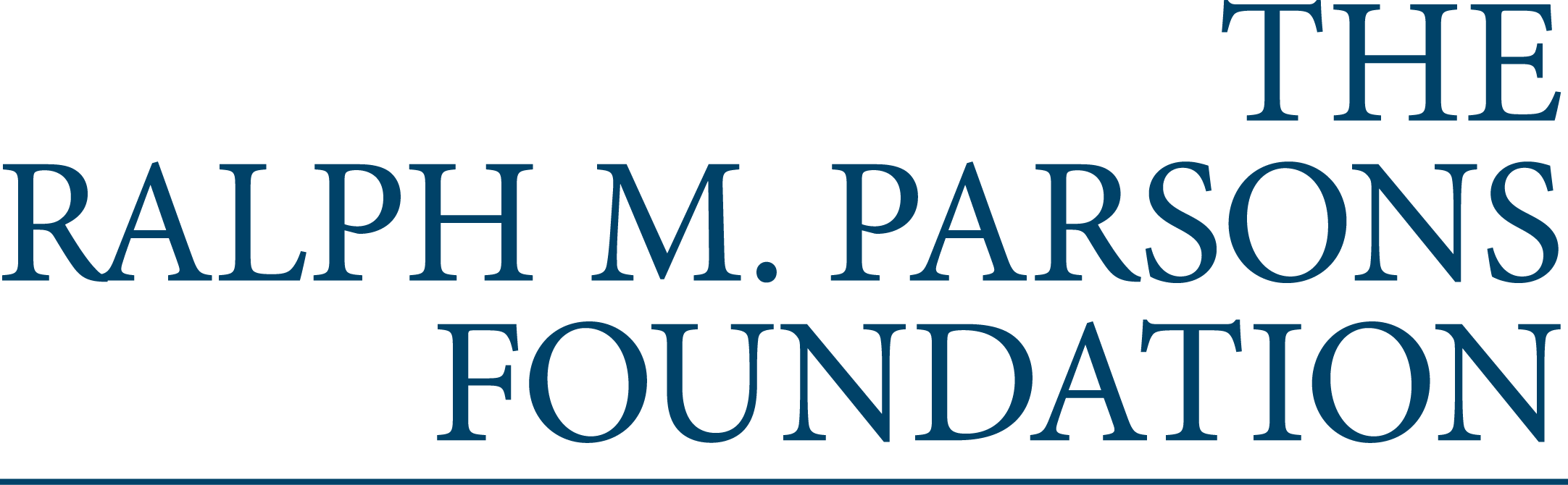 The Ralph M. Parsons Foundation logo